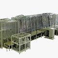 기립 이송형 현상 장비